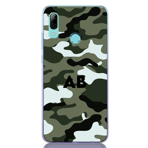 Camouflage green letter