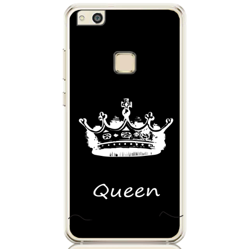 QUEEN black white name low