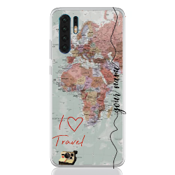 Travel World Colored Line