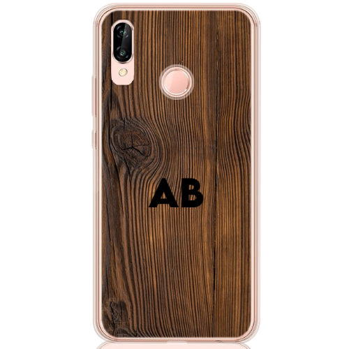 brown wood letter