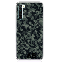 green camouflage letter low